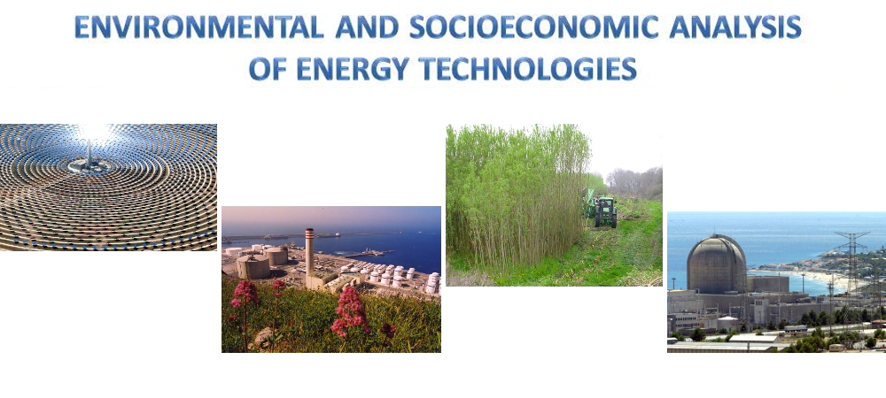 Environmental and socioeconomic analysis of energy technologies