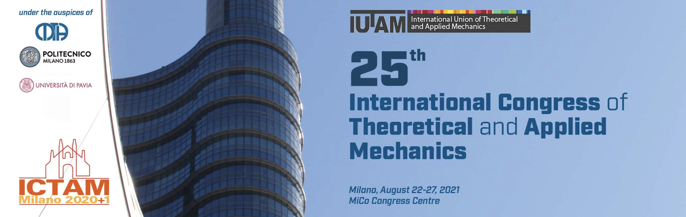 25th International Congress of Theoretical and Applied Mechanics